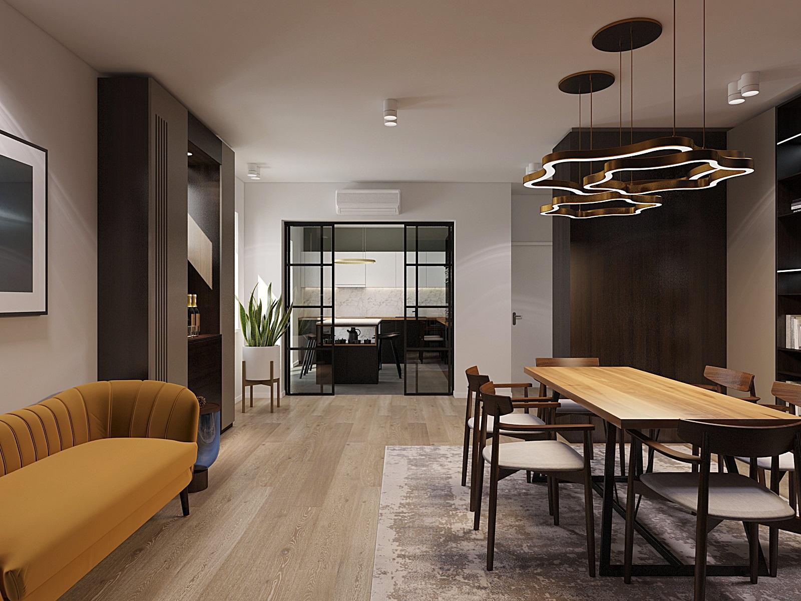 Apartament nou, lux, 4 camere, 2 bai, ultracentral
