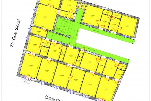 Releveu - Plan etaj-1